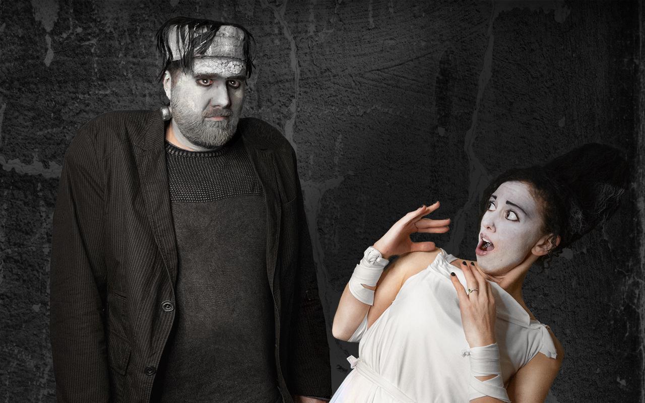 Frankensteins Monster und seine Braut